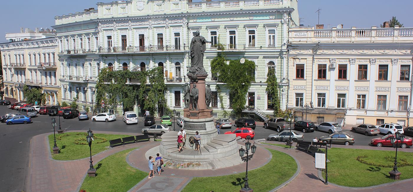 Monument voor Catharina de Grote
